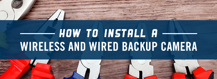 HOW TO INSTALL A WIRELESS & WIRED RV BACKUP CAMERA